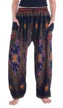 Lannaclothesdesign Harem Pants for Womens Summer Clothes Boho Hippie Linen Pants Women