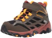 Merrell Kids' M-Moab FST Mid a/C WTRPF Hiking Boot