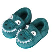 SITAILE Kids Slippers House Anti-Slip Indoor Home Fuzzy Crocodile Toddler Slippers for Girls and Boys