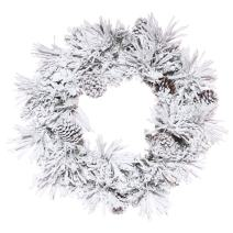 Vickerman Flocked Atka Pine Wreath, K171224