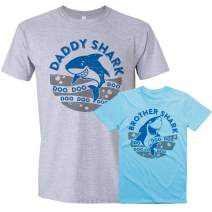 Baby Shark Shirt, Mommy Shark, Daddy Shark, Matching Daddy and Baby Set
