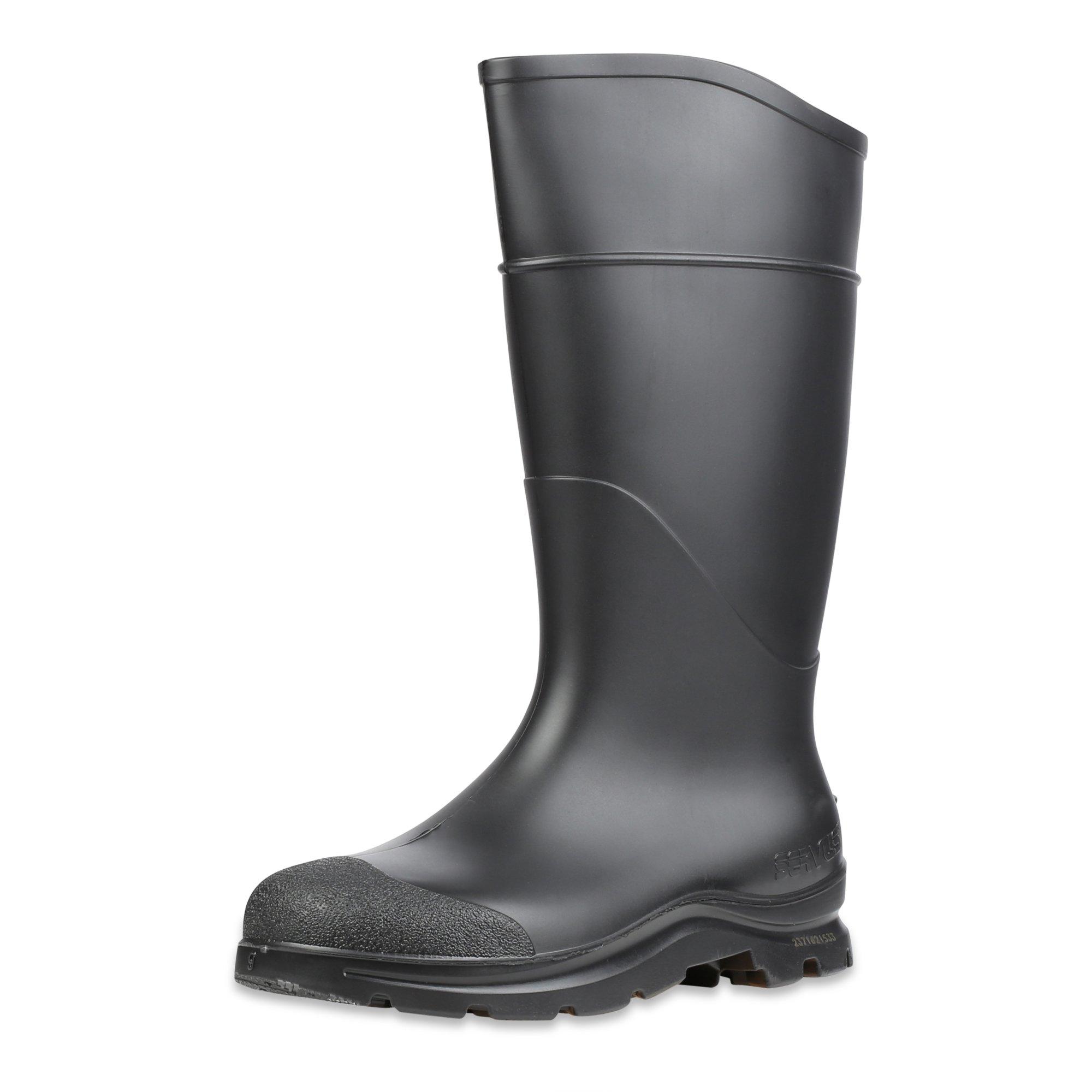"Servus Comfort Technology 14"" PVC Soft Toe Men's Work Boots, 7"