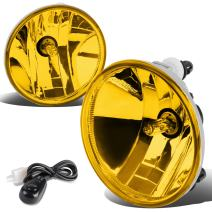 Pair Amber Lens Fog Light Lamp w/Switch Replacement for Chevy Silverado Colorado Tahoe GMC Sierra Canyon Yukon 07-19