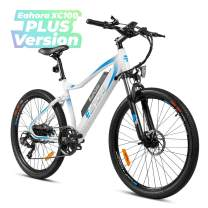 eAhora XC100 Plus 26 Inch 48V 350W Electric Mountain Bike Cruise Control 10.4Ah Removable Lithium Battery Urban Electric Bicycle for Adults Power Regeneration Tech 7 Speed Color Screen