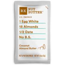 RX Nut Butter, Coconut Almond Butter, 1.13oz, 10 Count, Keto Snack, Gluten Free
