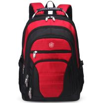 Aoking Men Large Lightweight Backpack Laptop 15.6 Computer Rucksack Travel Business Bag (Red)