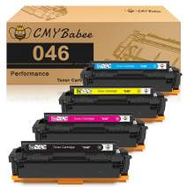 CMYBabee Compatible Toner Cartridge Replacement for Canon 046 046H for Color ImageCLASS MF735Cdw LBP654Cdw MF731Cdw MF733Cdw Laser Printer (4 Pack)