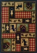 "Oriental Weavers Hudson 1067A  Area Rug, 3'10 x 5'5"""