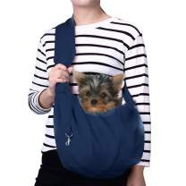GHIFANT Dog and Cat Sling Carrier Little Pet Carrier Shoulder Crossbody Pet Slings for Outdoor Traveling Subway