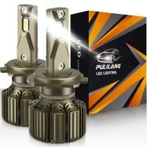 PULILANG H7 LED Headlight Bulbs, 70W 6000K 10500LM Super Bright LED Headlights Conversion Kit IP68 Waterproof, 2 PCS