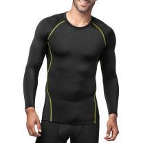 LAPASA Men's Compression Tops Quick Dry & Breathable Sports Base Layer Shirt M17