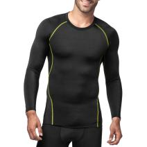 LAPASA Men's Compression Tops Quick Dry & Breathable Sports Base Layer Shirt M17
