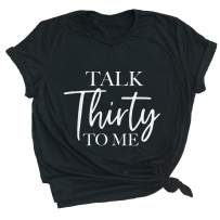 Spunky Pineapple Talk Thirty to Me Funny Party 30th Birthday Gift Shirt Premium Tee