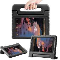 TIRIN Case for Alcatel Joy Tab 8/ Alcatel 3T/ A30 8 Tablet - Light Weight Shock Proof Convertible Handle Stand Kids Case for Alcatel Joy Tab 2019/ Alcatel 3T 2018/ Alcatel A30 2017 8''Tablet, Black