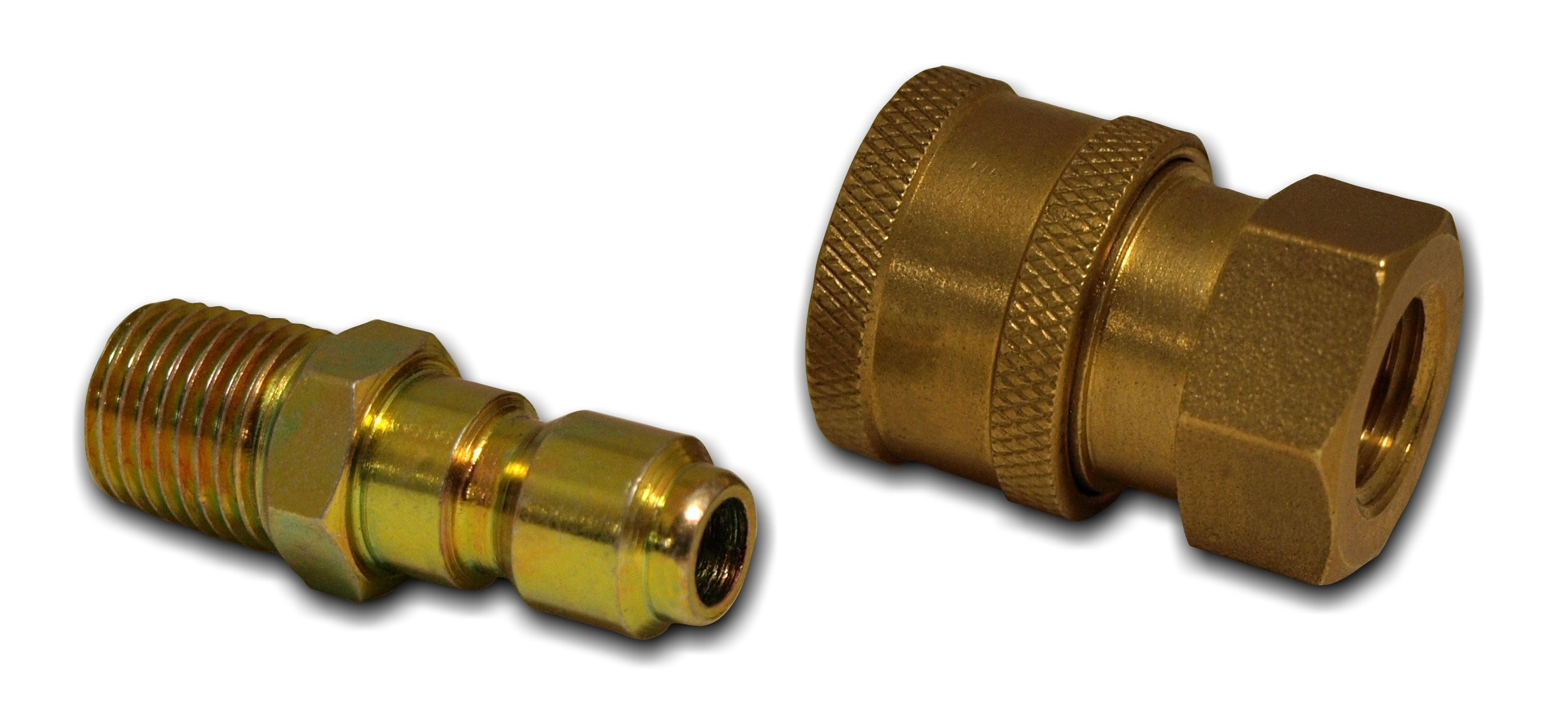 """Apache 98441022 1/4"""" Quick Disconnect Pressure Washer Adapter Set"""