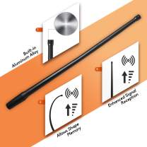DeepRoar Replacement Antenna for Jeep Grand Cherokee 2011-2015, Optimized FM/AM Reception, 13 Inch PL01 (Black)