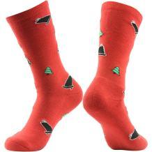 Novelty Funny Crazy Crew Socks, Gmark Mens Womens Colorful Fun Cool Sweet Words Dress Socks