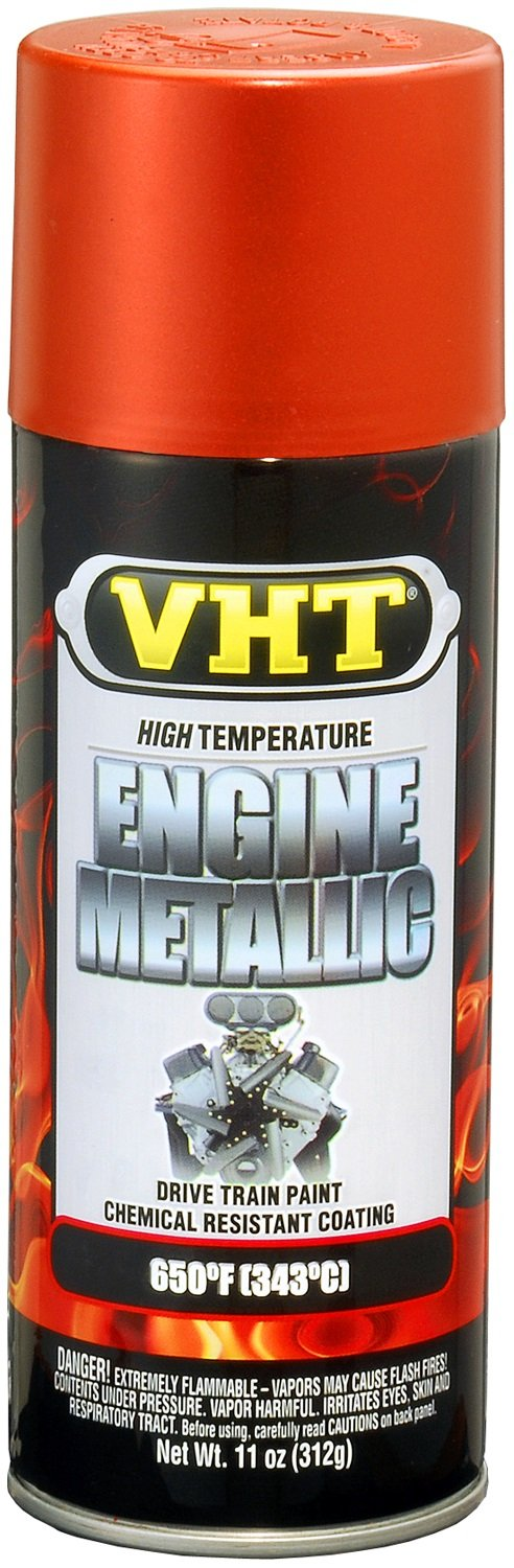 VHT SP401 Engine Metallic Fire Red Paint Can - 11 oz.