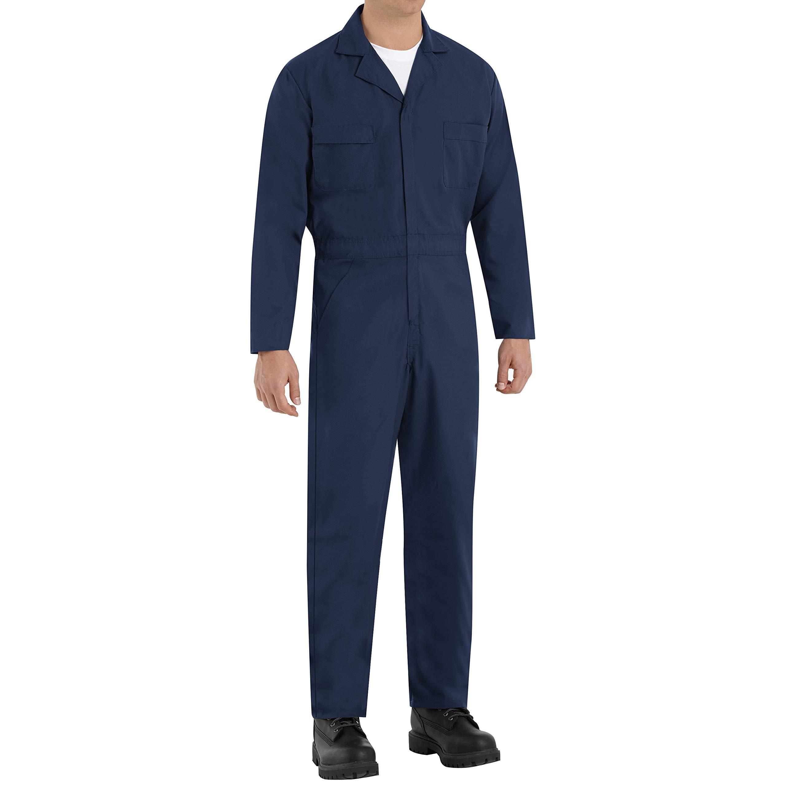 Red Kap Men's Navy Speedsuit