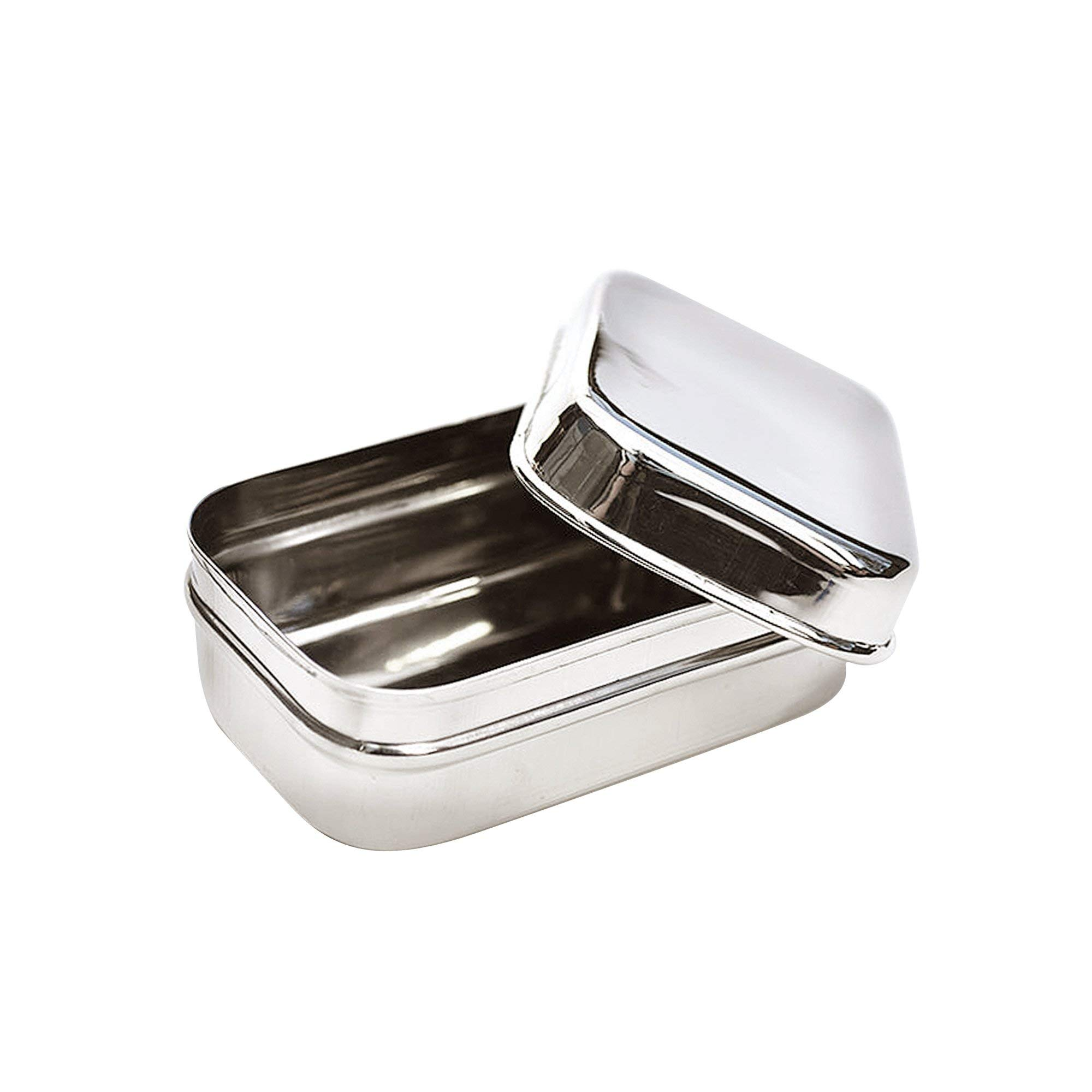 Ecolunchbox Stainless Steel Food Storage Container, Snack Pod