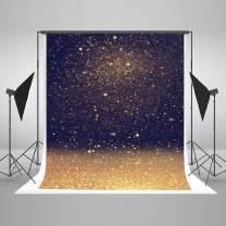 Kate 5x7ft Gold Bokeh Photography Backdrop Gold Glitter Sequin Spots Backdrops Portrait Background