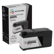 LD Compatible Ink Cartridge Replacement for Lexmark 200XL 14L0174 High Yield (Black)