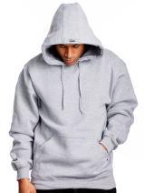 PRO 5 Mens Heavy Weight Fleece Pullover Hoodie