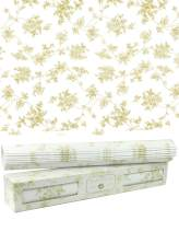 "Scentennials Green Tea & Lemon (12 Sheets) Scented Fragrant Shelf & Drawer Liners 16.5"" x 22"" - Great for Dresser, Kitchen, Bathroom, Vanity & Linen Closet"