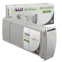 LD Remanufactured Ink Cartridge Replacement for HP 80 C4871A (Black)