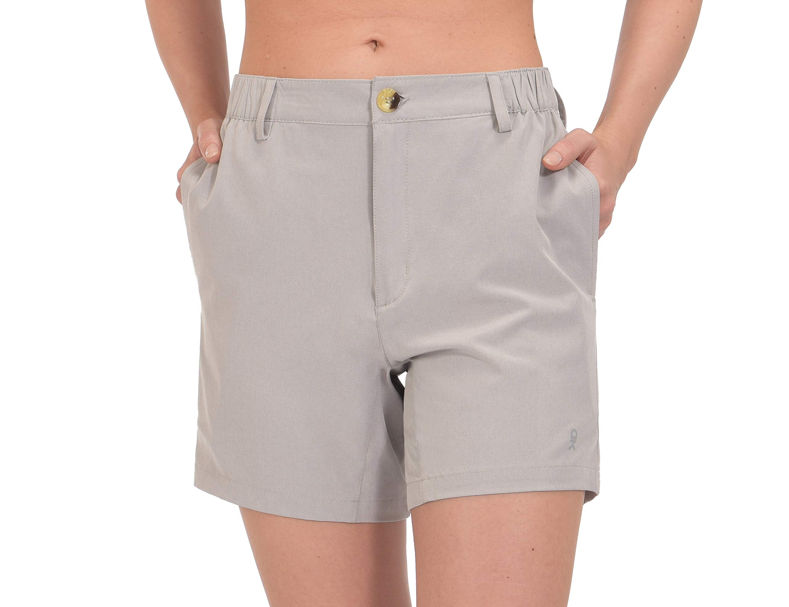 Little Donkey Andy Women's Lightweight Quick Dry Bermuda Shorts UPF 50 Stretch Shorts for Golf Hiking Travelling
