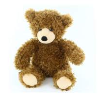 Plushland Adorable Junior Bear for Kids 10 Inches Plush Stuffed Animal Toy for Girls and Boys Ideal Gift for Valentines Day, Christmas, Birthday and Holidays (Mocha)