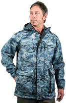 Aqua Design Men's StormShield Insulated Fishing Hunting Pro DWR Water Camouflage Wading Rain Jacket