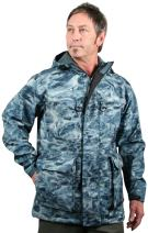 Aqua Design Men's StormShield Insulated Fishing Hunting Pro DWR Water Camouflage Wading Rain Jacket