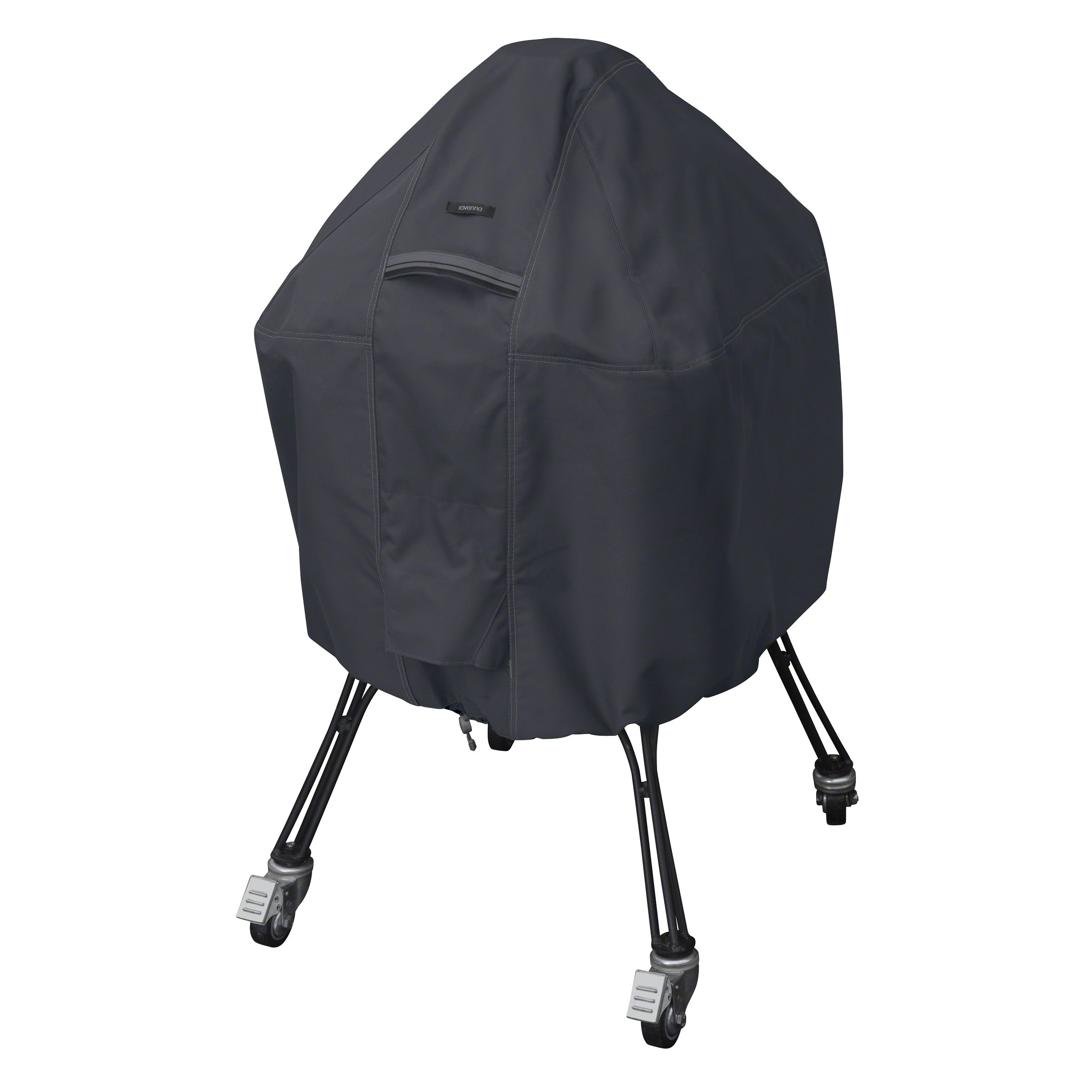 Classic Accessories Ravenna Water-Resistant 27 Inch Kamado Ceramic BBQ Grill Cover