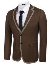 COOFANDY Mens Classic Fit Dress Suit Jacket Slim Fit Business Blazer Suits