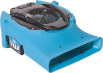 Dri Eaz Velo Air Mover F504 Professional Water Damage Dryer for Carpets, Walls, Floors, 1.9 Amp Saves Power, 1-Speed, High Velocity, Quiet, Well Built, Daisy Chains, Blue