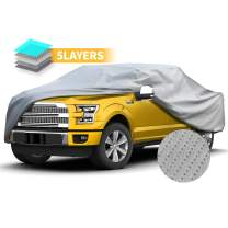 """Truck Covers Full Exterior Car Cover UV Resistance Semi-Custom Car Cover Windproof Outdoor Auto Covers for 210"""" Truck"""