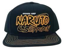Ripple Junction Naruto Shippuden Adult Unisex 3D Logo Flat Bill Snap Back Hat