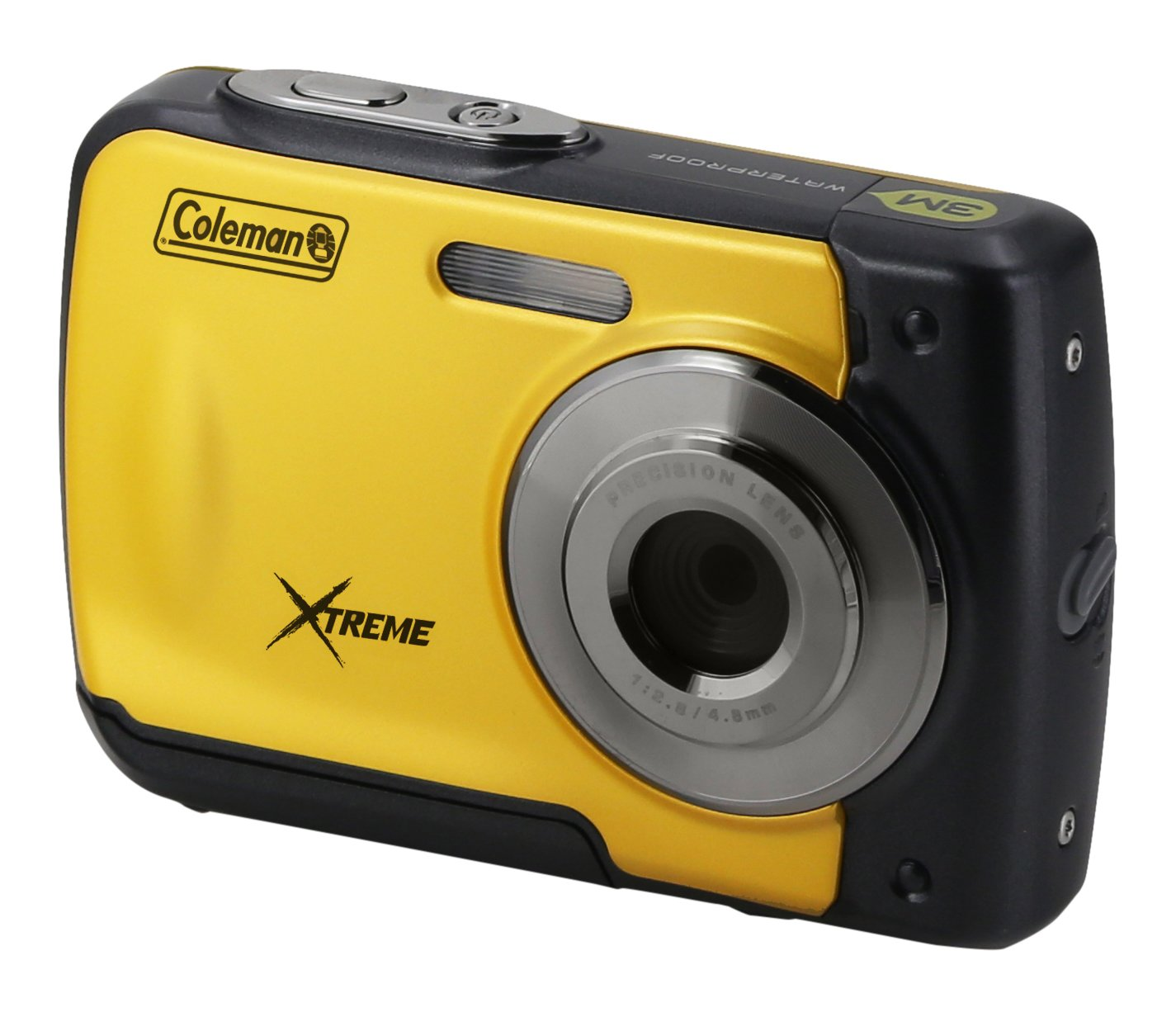 """Coleman Xtreme 18.0 MP HD Underwater Digital & Video Camera (Waterproof to 10 ft.), 2.5"""", Yellow (C20WP-Y)"""