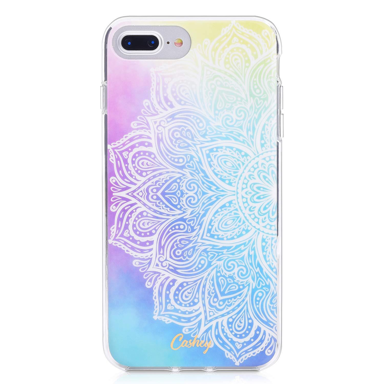 Cashey Colorful Mandala Ahimsa Design Protective iPhone Case (iPhone 6+/7+/8+)