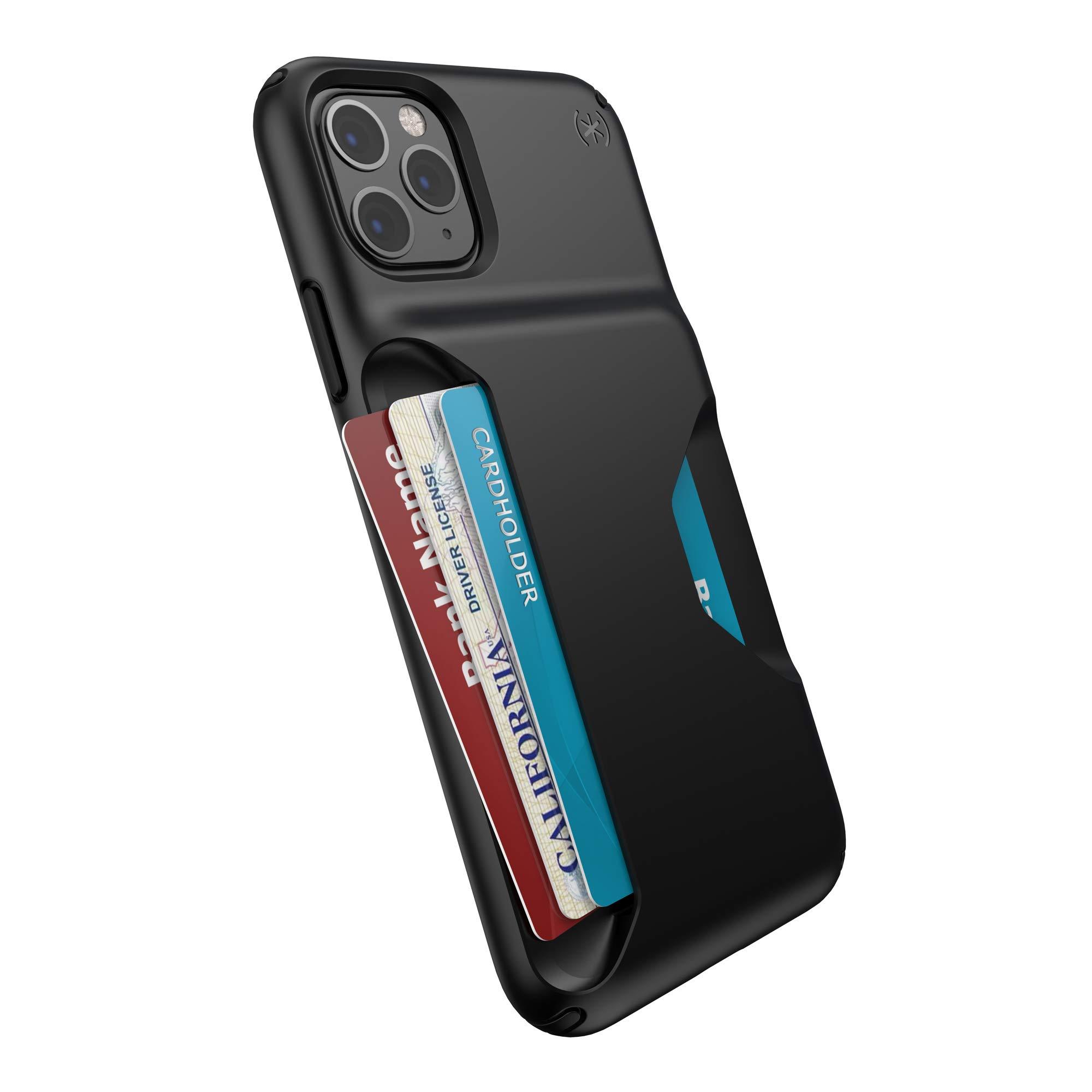 Speck Presidio Wallet iPhone 11 Pro Max Case, Black