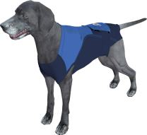 Surgi~Snuggly Washable Disposable Dog Diapers Keeper is Made with American Textile - for Male and Female Dogs - Fits Puppies to Adult Dogs - A Simple Solution to an Everyday Problem