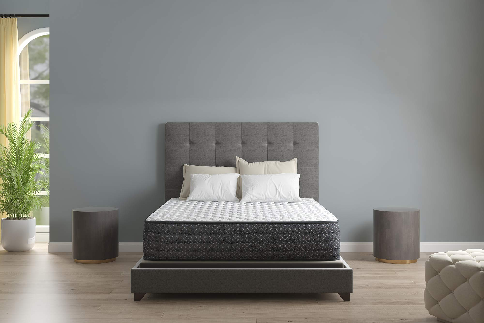 Signature Design by Ashley Limited Edition Firm Queen Mattress, White