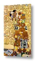 """Alonline Art - The Embrace by Gustav Klimt 
