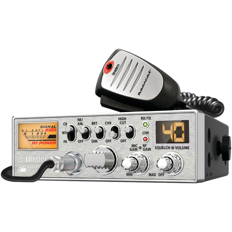 Uniden PC687 40-Channel CB Radio with Big Power Meter
