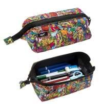 ZIPIT Lenny Pencil Case, Doodles
