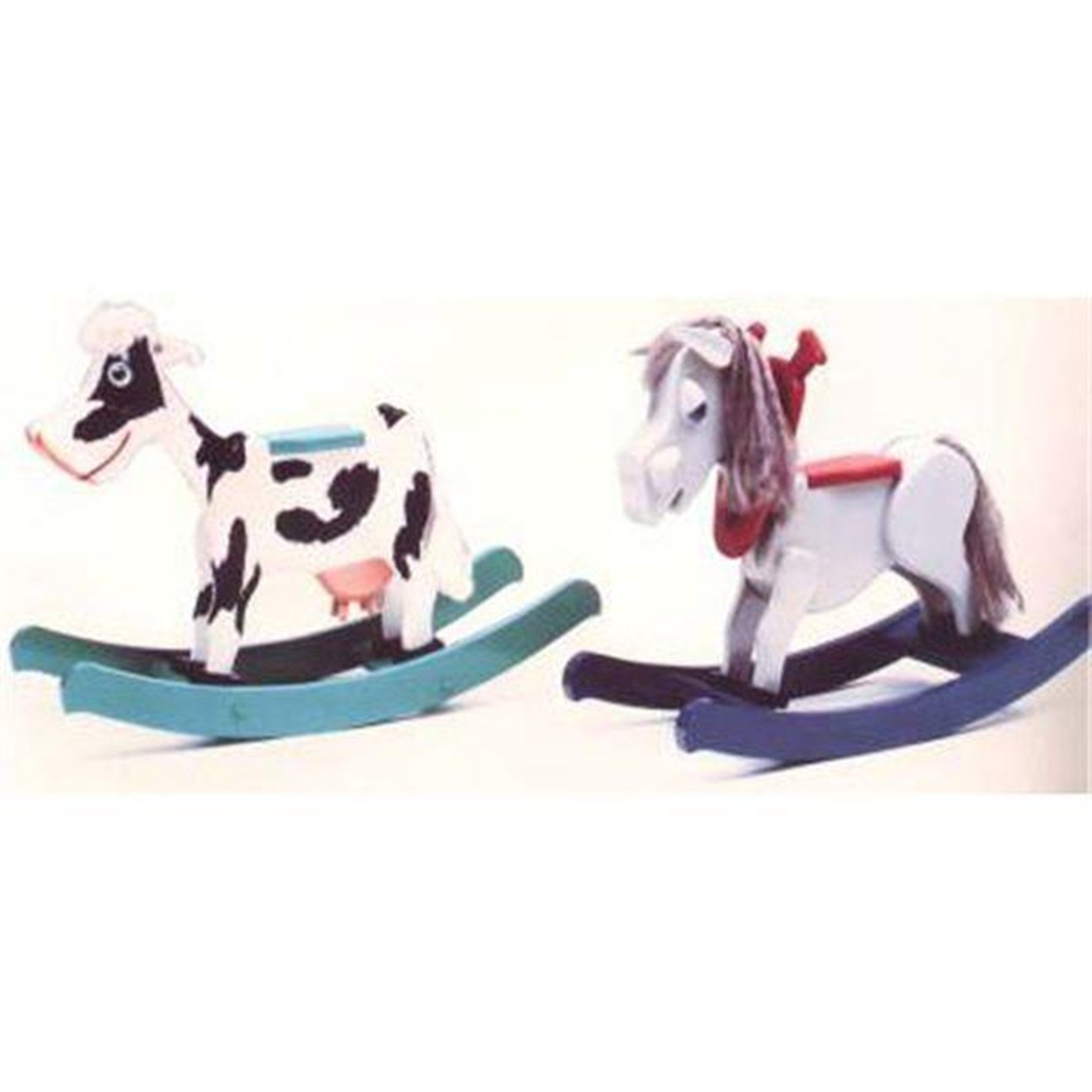 Woodworking Project Paper Plan to Build Baby Bessie Mini Mare Rocker