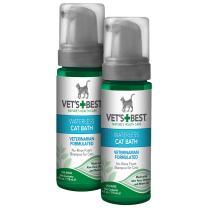 Vet's Best No-Rinse Clean Waterless Cat Shampoo. Natural Formula, 8 oz