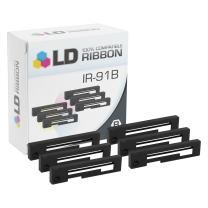 LD Compatible Printer Ribbon Cartridge Replacement for Citizen IR-91B (Black, 6-Pack)