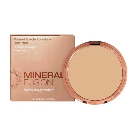 Mineral Fusion Pressed Powder Foundation, Warm 3
